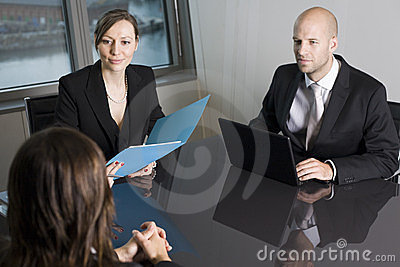 Consultation with financial adviser in a nice