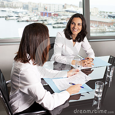 Consultation with insurance agent