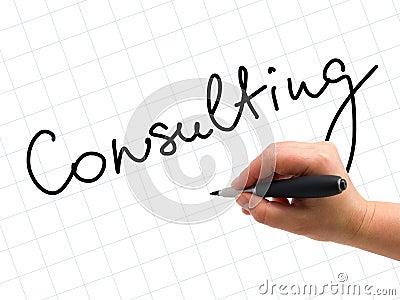 Consulting Handwritten