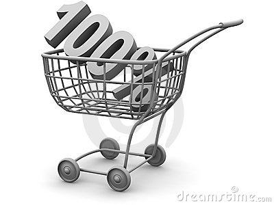 Consumer basket. 100 percent