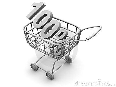 Consumer basket with 100 percent