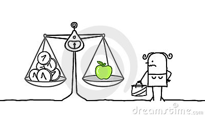 Consumer & expensive apples