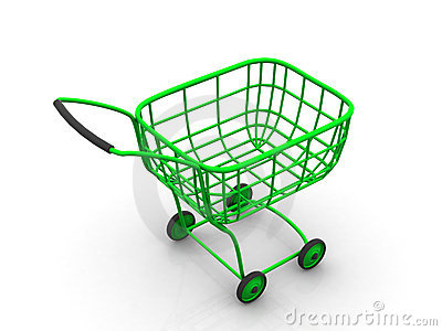 Consumer s basket. 3d
