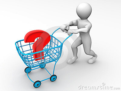 Consumer s basket with question
