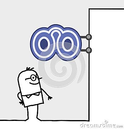Consumer & shop sign - optician