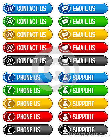 Contact Email Phone Us Buttons