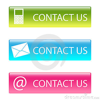 Free Contact Us Buttons Stock Image - 14791101