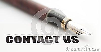 Contact us card