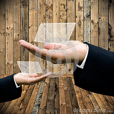Free Contact Us Concept Royalty Free Stock Photos - 36100118