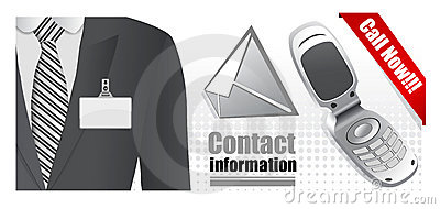 Contacts illustration