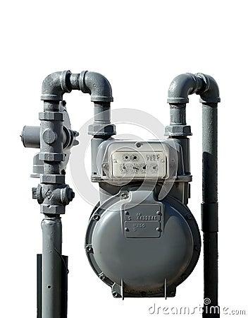 Contador de gas natural imagenes de archivo imagen 463524 for Imagenes de gas natural