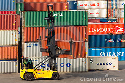 Container Editorial Photography
