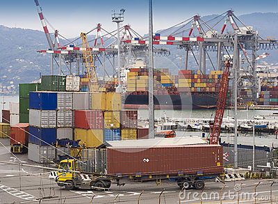 Container al bacino