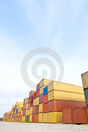 Free Container Area Stock Photography - 16702742