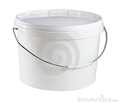 Container with bail