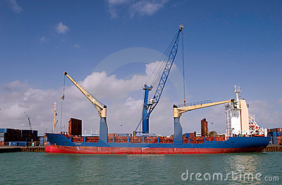 Container Boat