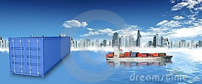container and city