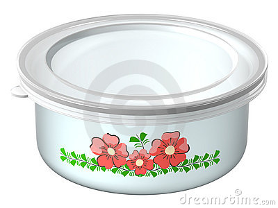 The container for foods