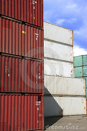 Free Container In Stock Stock Photo - 697770