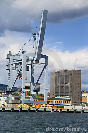Container lifting gear