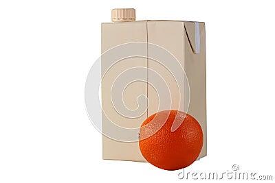 Container for orange juice