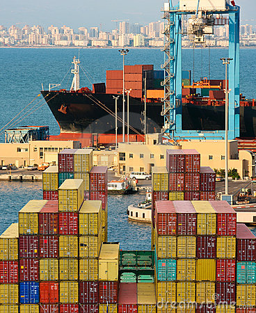 Container ship Editorial Photography