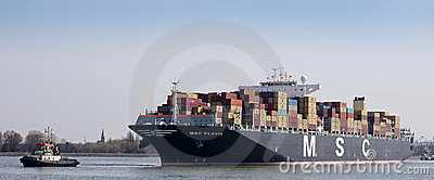 Container ship Editorial Image