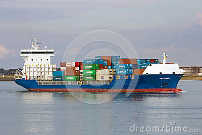 Container ship Editorial Photo