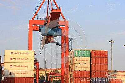 Container Stacks Editorial Image