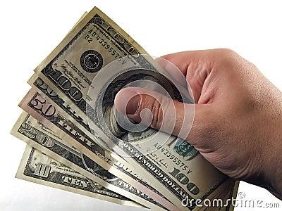 Contant geld ter beschikking