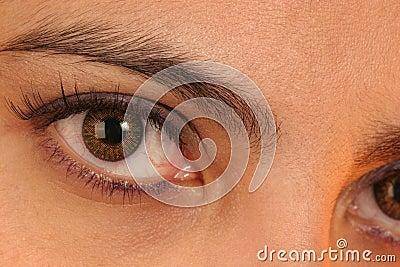 Contato de olho