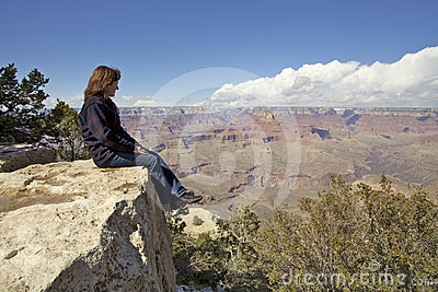 Contemplating the Grand Canyon