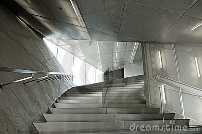 Contemporary Architecture on Contemporary Architecture Interior Detail Stock Photo   Image