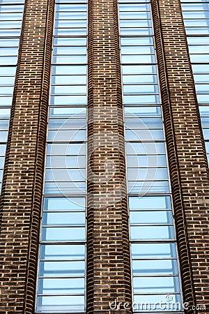 Contemporary building in London
