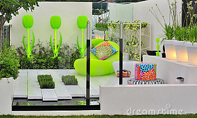 Contemporary concept garden
