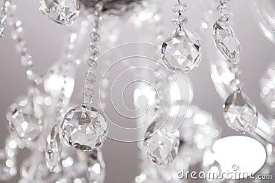 Contemporary Crystal Chandelier.