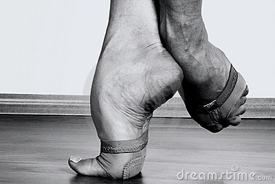 Contemporary Dancer Feet