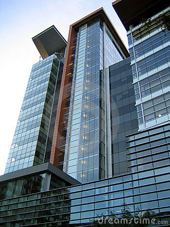 Free Contemporary Downtown High-rise Building Stock Photo - 623950