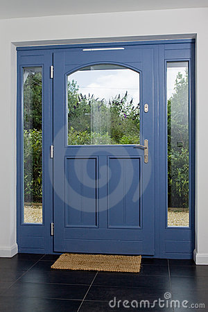Front Door Contemporary on Royalty Free Stock Image  Contemporary Front Door  Image  10090166