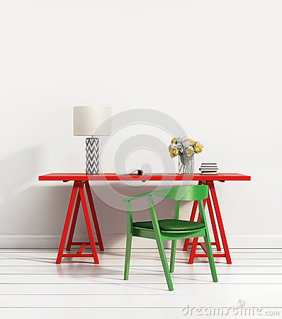 Free Contemporary Home Office Stock Photography - 43202542