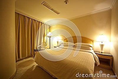 Contemporary Hotel Bedroom