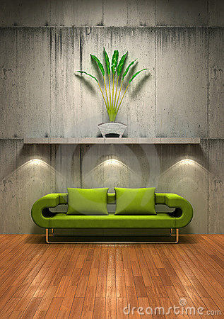 Free Contemporary Interior 02 Royalty Free Stock Image - 2550576