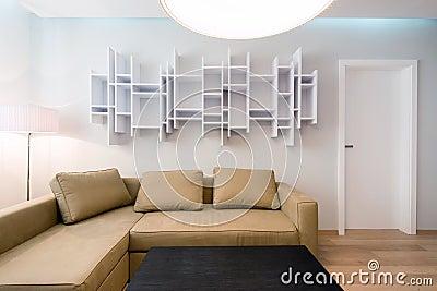 Contemporary living-room interior