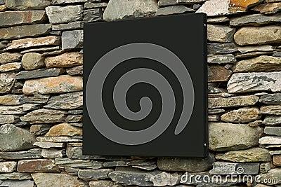 Contemporary modern signage