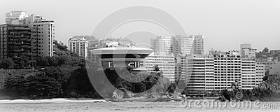 Contemporary Museum of Art in the city of Niteroi