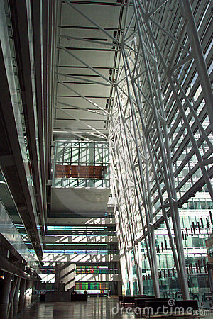 Contemporary Office Building - Hall
