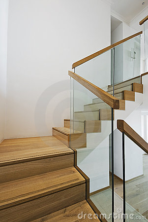 Free Contemporary Stair Case Royalty Free Stock Photo - 10997645