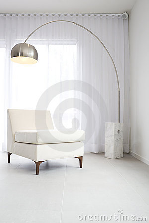 Contemporary white interior