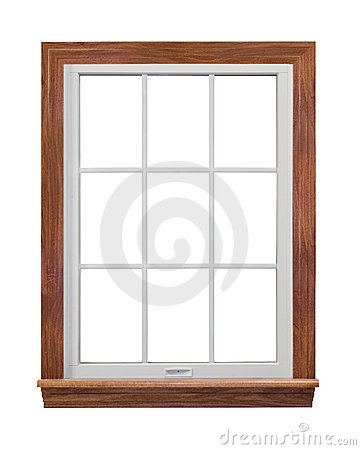 Free Contemporary Window Frame Royalty Free Stock Photography - 4547297