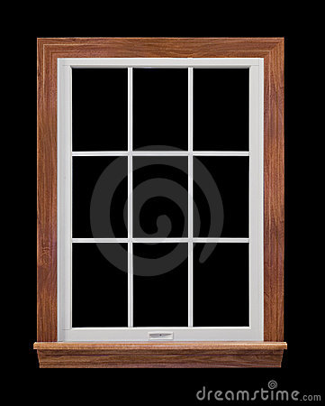 Free Contemporary Window Frame Royalty Free Stock Photography - 4547307